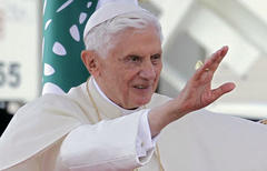 Pope Benedict XVI makes last public address